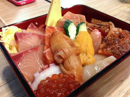 Seasonal Chirashi Don
